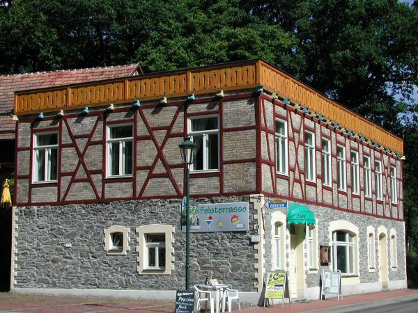Cafe & Pension Felsterrasse in Alexisbad